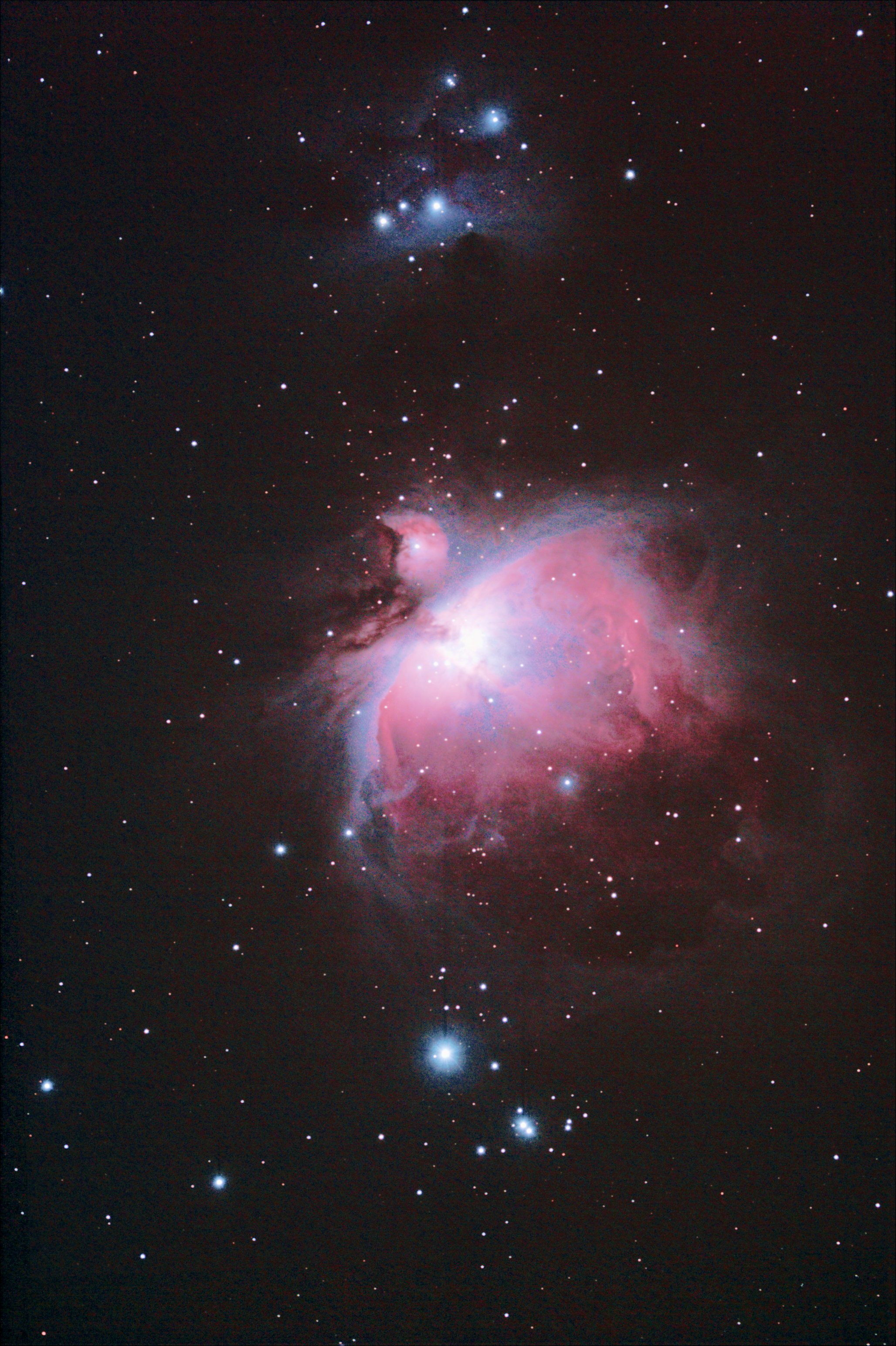 M42/43 from 2008-12-30 and 2010-1-11 data sets